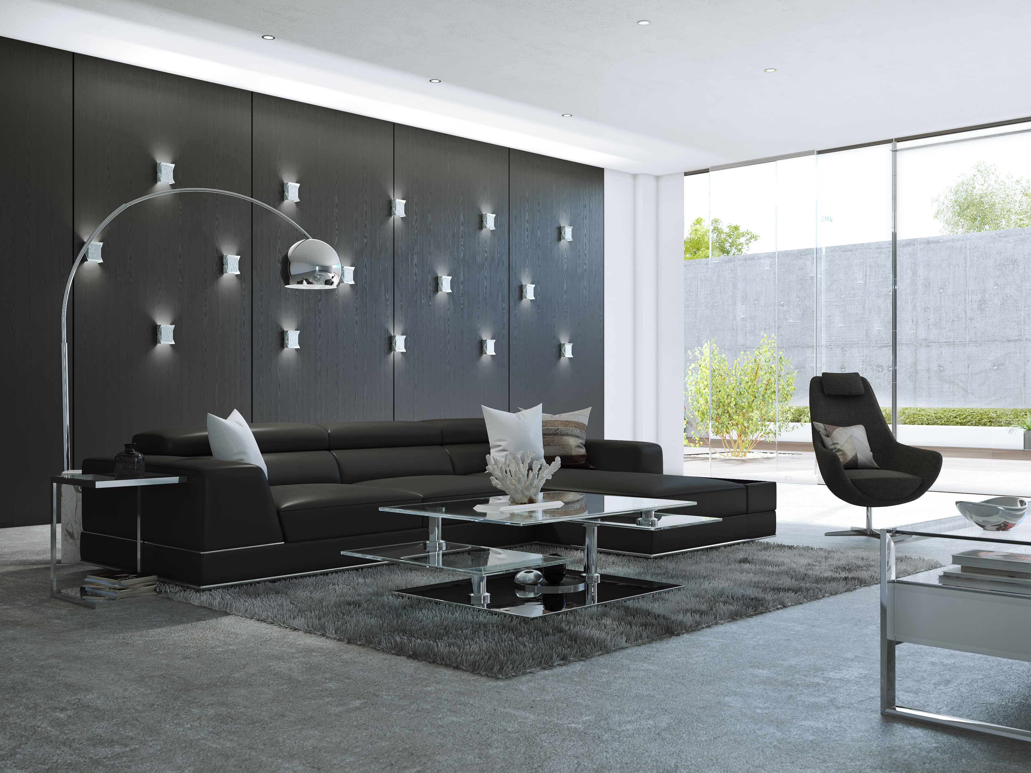 Experience Class And Comfort With Bergamo Leather Sofa