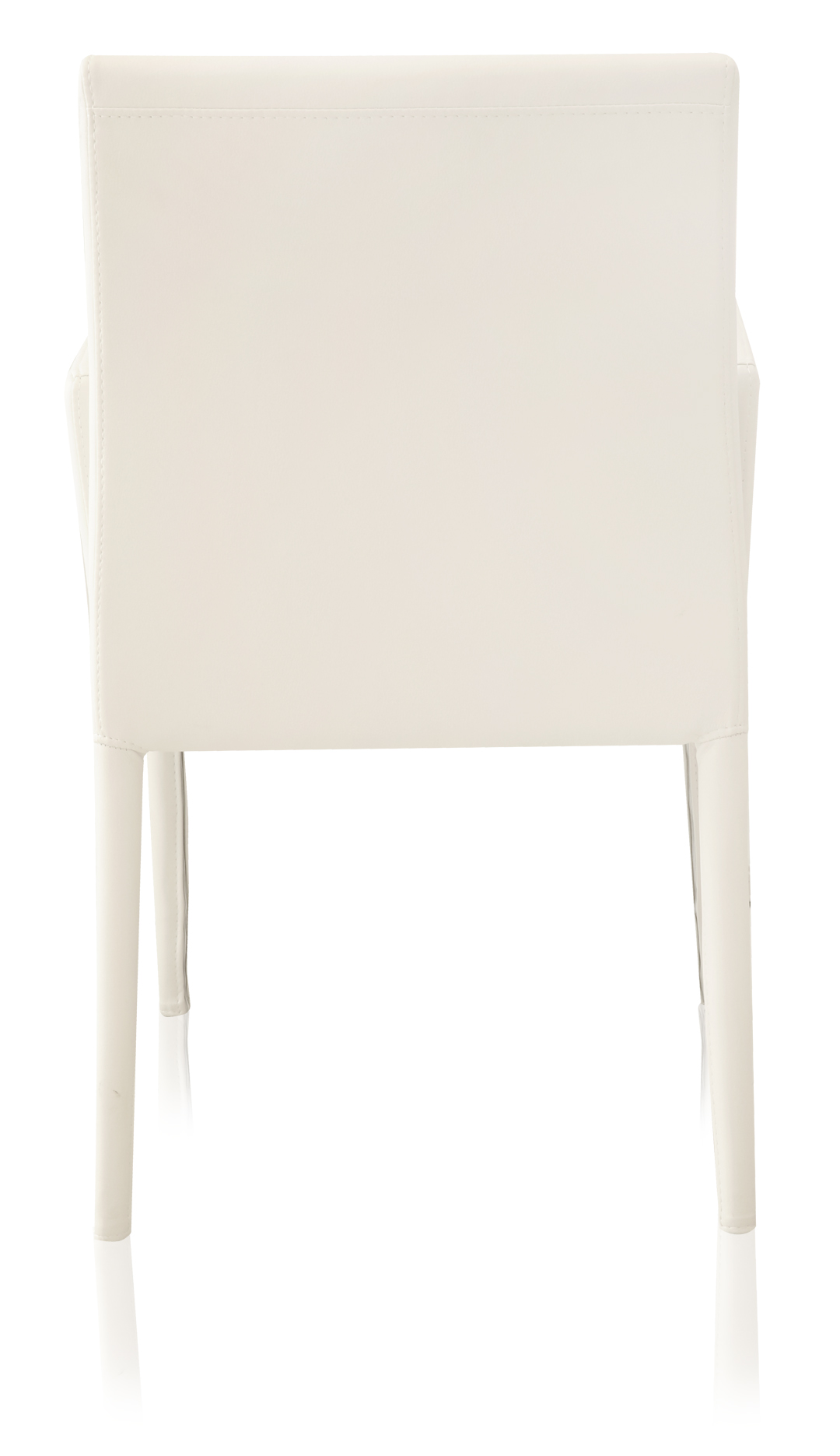 camille dining chair white