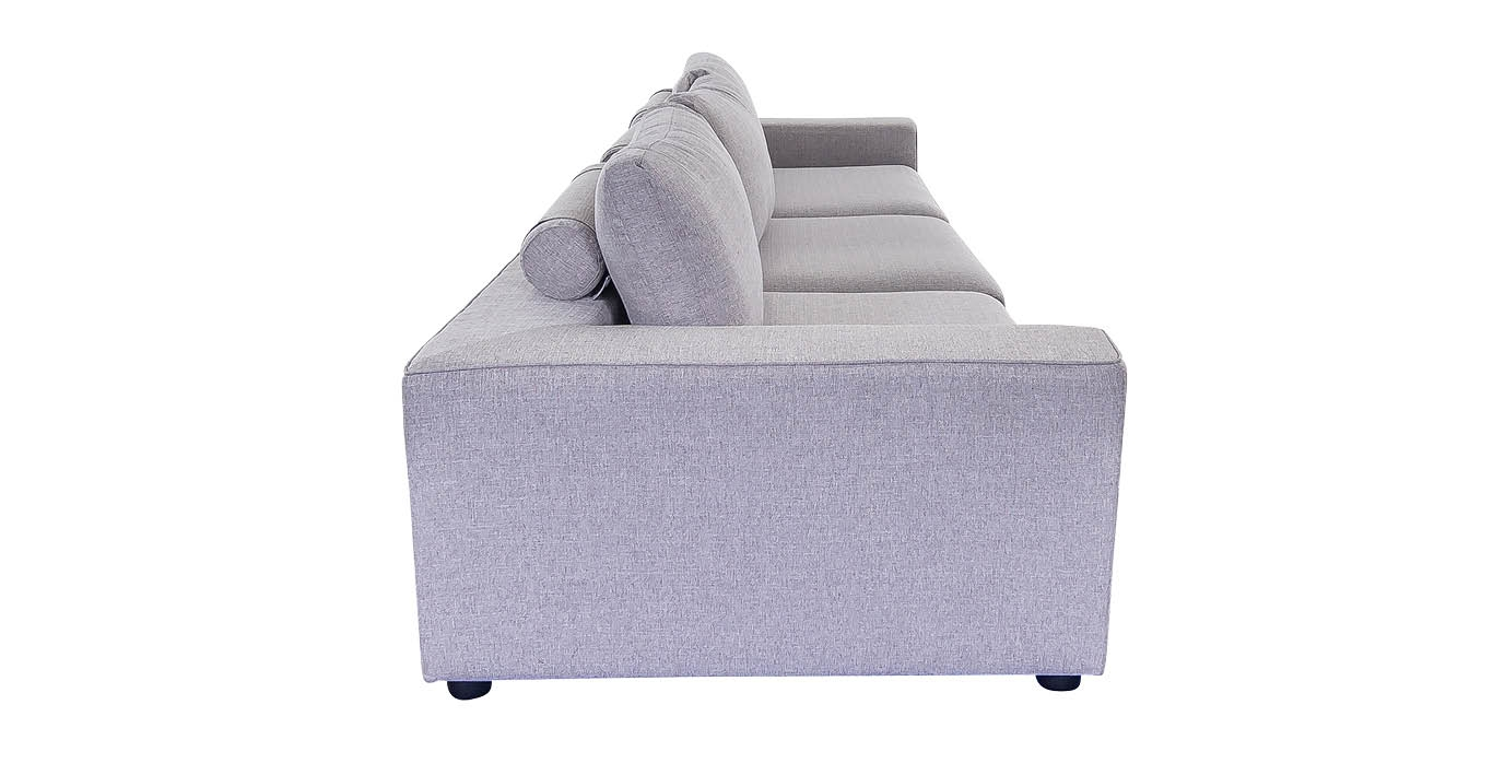 Edison 3 Seater Sofa Gray