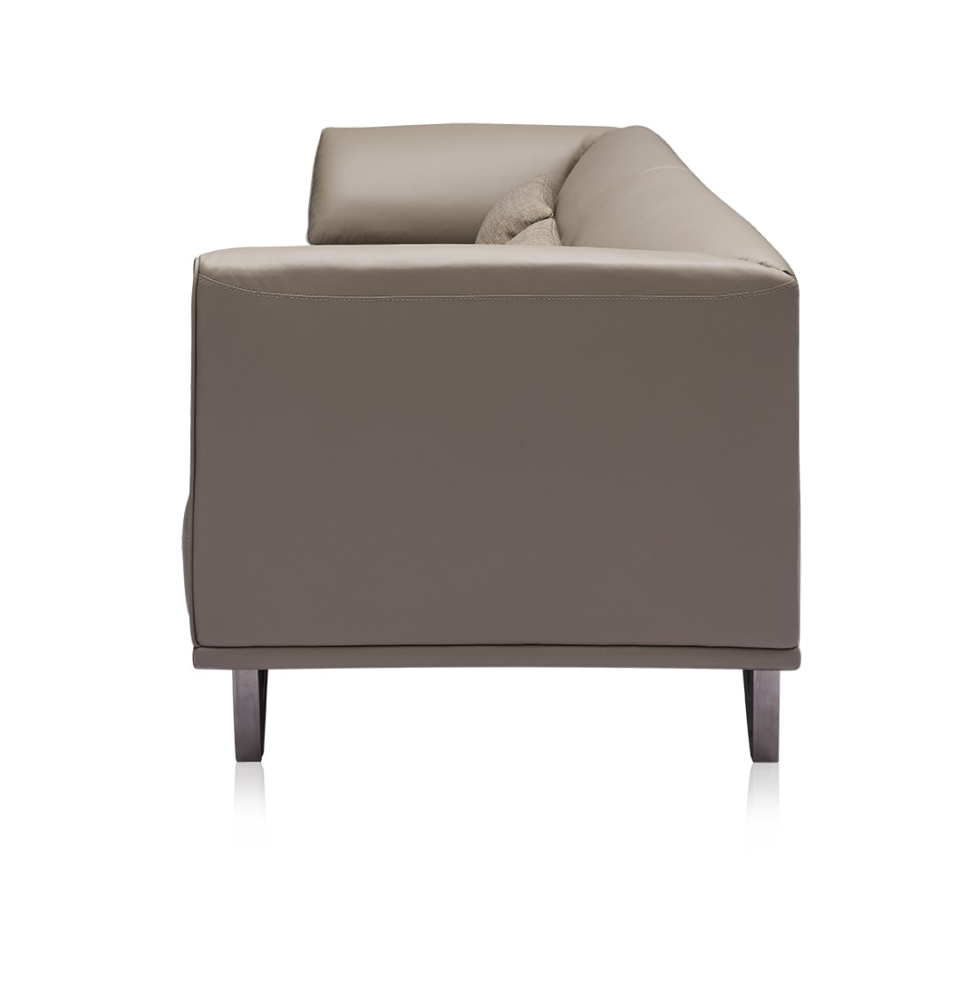 Emiliano 3 seater Modern Sofa Gray