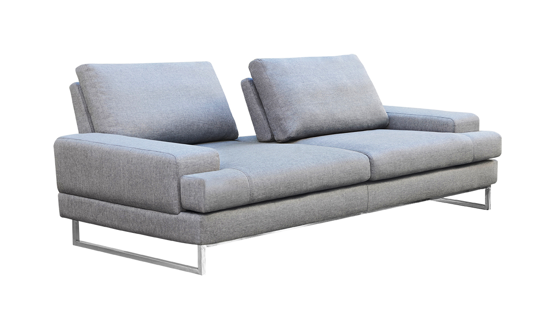Ethan Sofa Gray Fabric