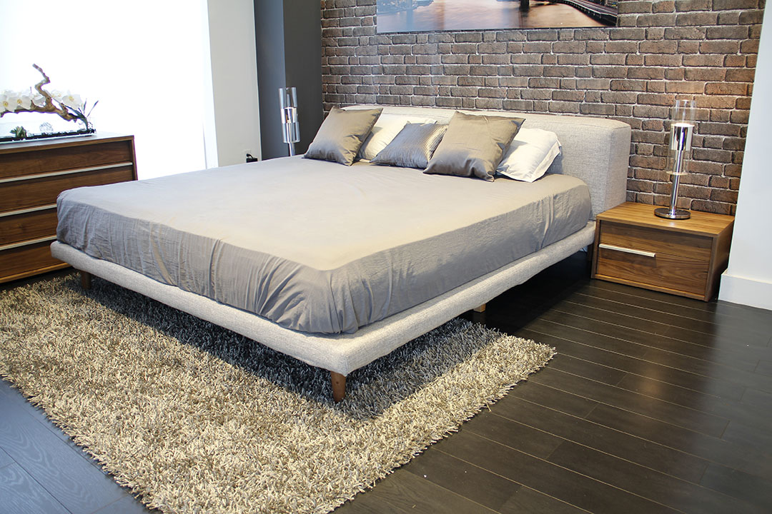 Reflect Your Personal Style With The Herman Gray Fabric Bed