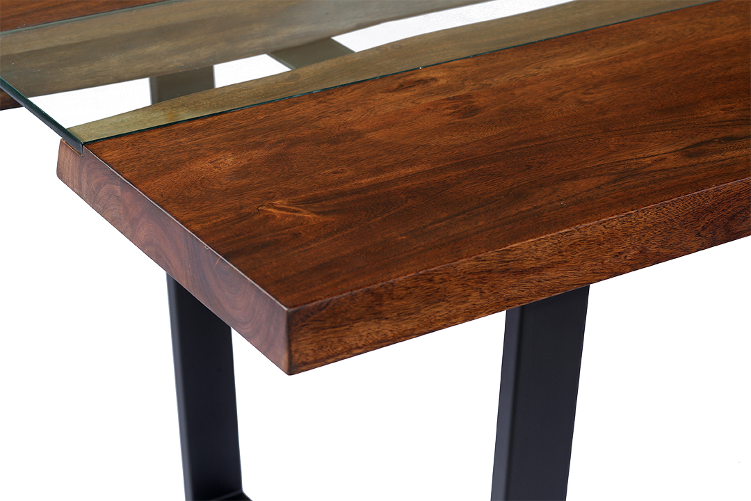 Kaawa Large Table Brown