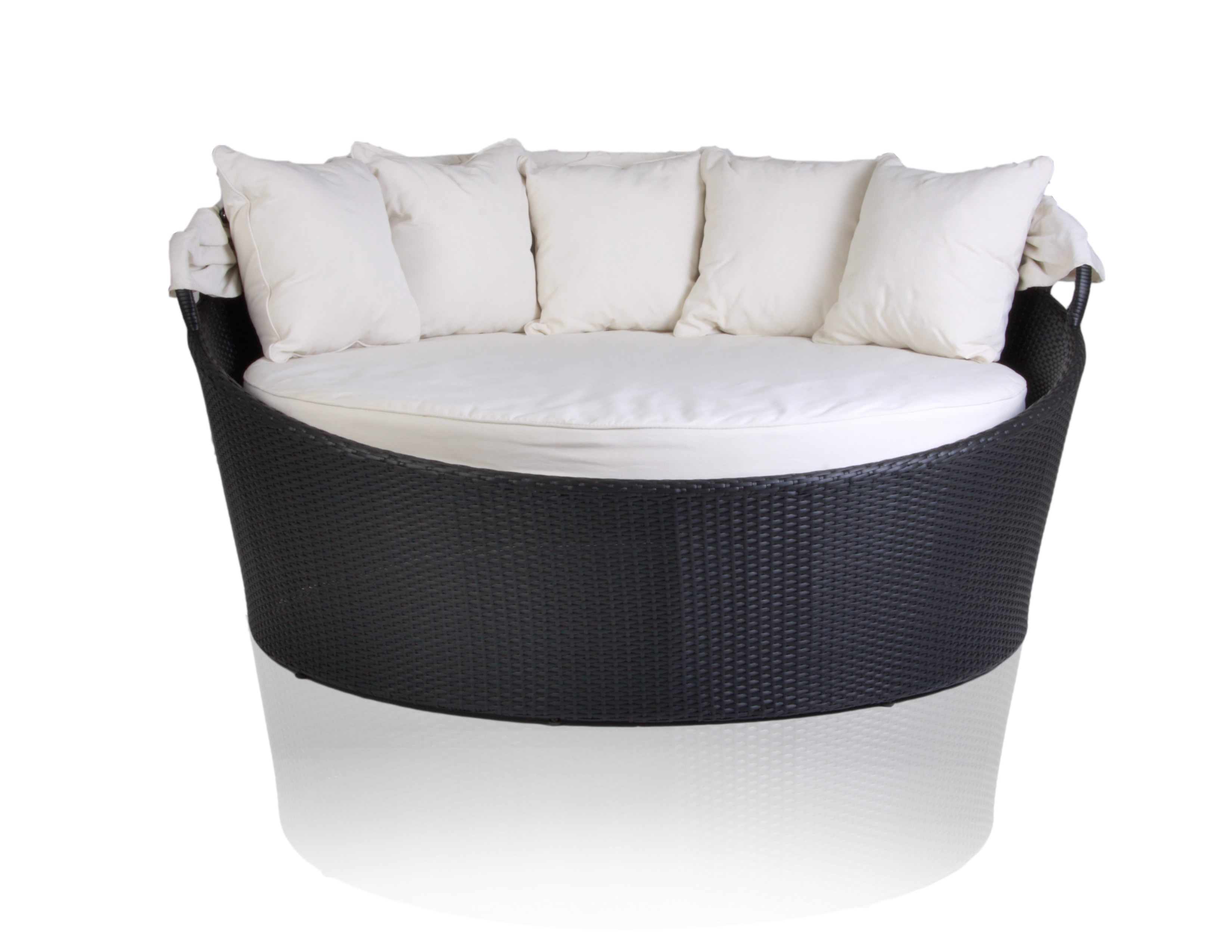 Outdoor Modern Love Seat with Cap