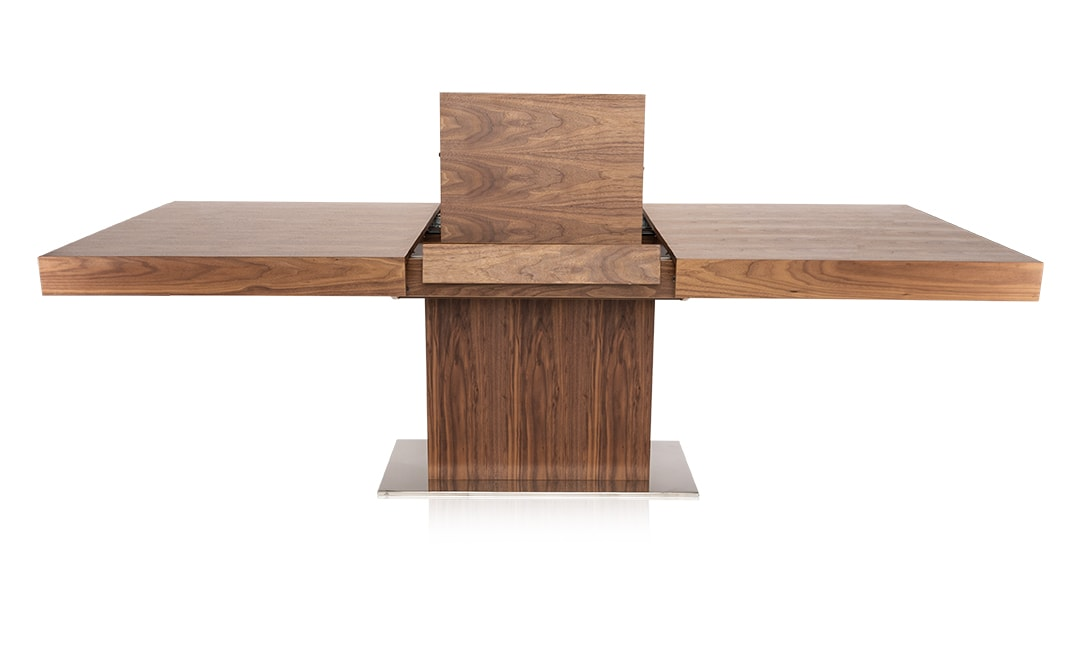 Palerma Modern Dining Table in Walnut An Elevated Classic
